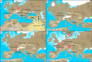 Late-Pleistocene-and-Early-Holocene-Archeological-Sites-and-Hunter-Gatherer-mtDNA-Haplogroups